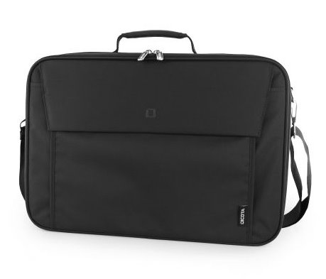 DICOTA_Multi Plus BASE 14-15.6, Lightweight notebook case with protective function and document compartment black