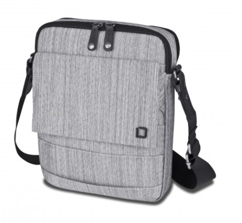 DICOTA_Code Sling 10, Stylish bag with stand function grey