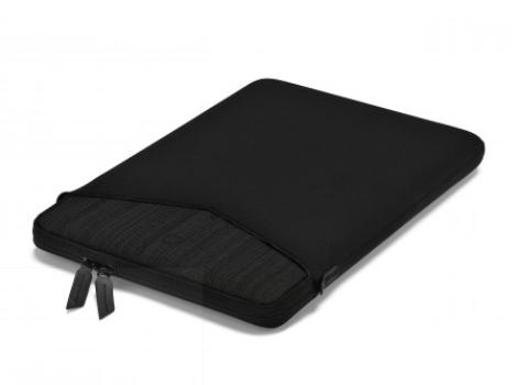 DICOTA_Code, Stylish neoprene sleeve with pocket for accessories 15 black
