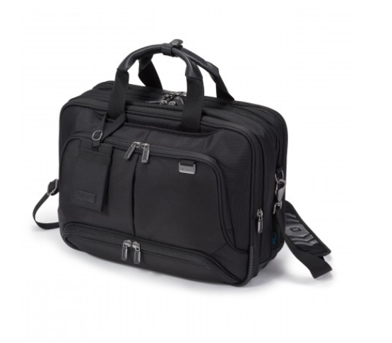 DICOTA_Top Traveller Twin PRO 14-15.6, Expandable bag with functionality and lots of storage space