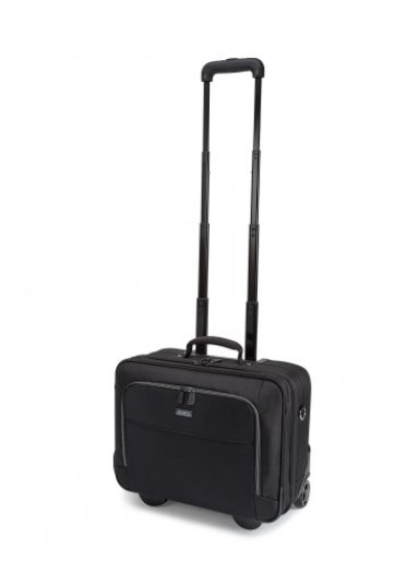 DICOTA_Multi Roller ECO 14-15.6, Eco-friendly notebook trolley with protection and storage space black