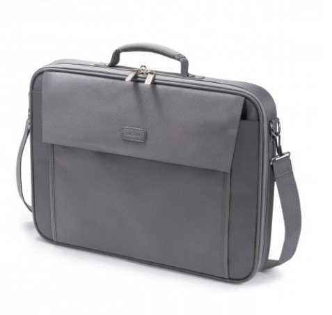 DICOTA_Multi BASE 15-17.3, Lightweight notebook case with protection function grey