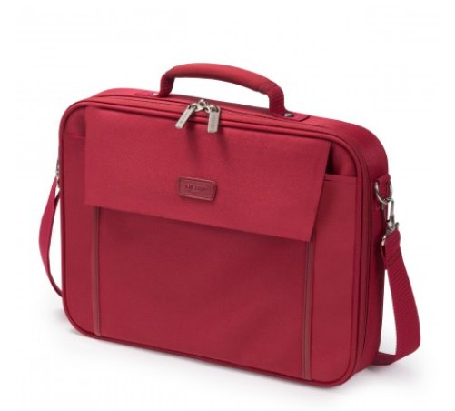DICOTA_Multi BASE 15-17.3, Lightweight notebook case with protection function red