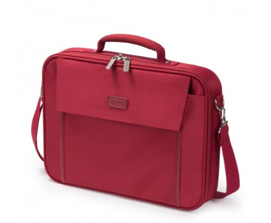 DICOTA_Multi BASE 14-15.6, Lightweight notebook case with protection function red