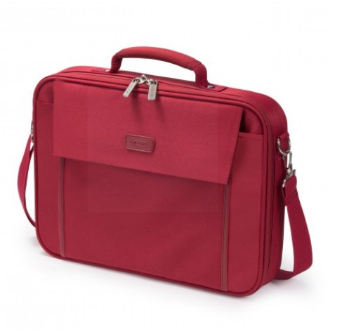 DICOTA_Multi BASE 11-13.3, Lightweight notebook case with protection function red
