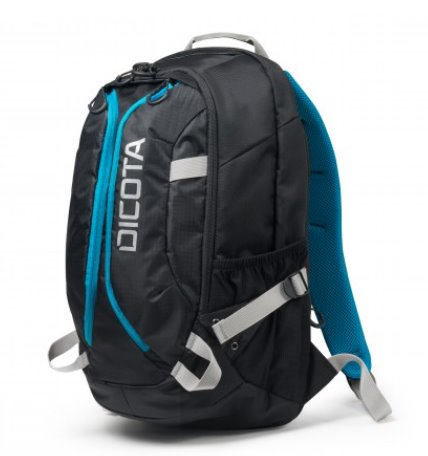 DICOTA_Backpack Active 14 - 15.6 black/blue