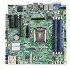 Intel® Server Board S1200SPL 1xLGA1151, C236, 4xDDR4, 8xSATA, (2,1x PCI-E 3.0 x8,x4), I/O Exp. module,2x1GbE