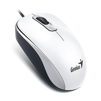 Genius myš DX-110, USB, biela