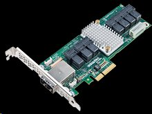 Adaptec SAS Expander 82885T 36 port, 12Gb/s SAS Expander Card