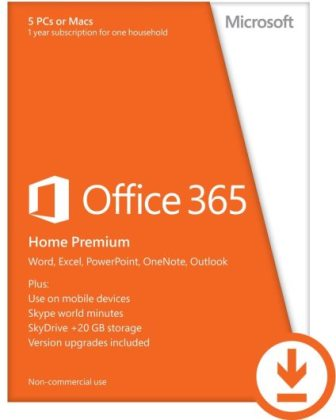 Office 365 Home Premium - English Medialess