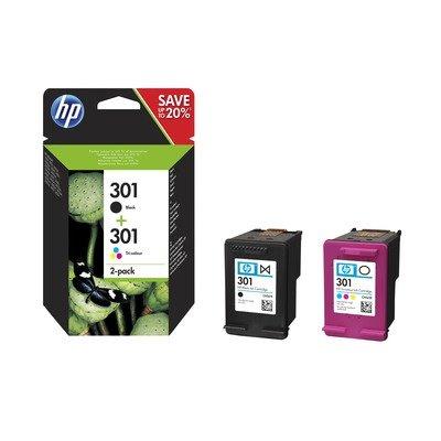 HP N9J72AE HP 301 Ink Cartridge Combo 2-Pack /náhrada J3M81AE/