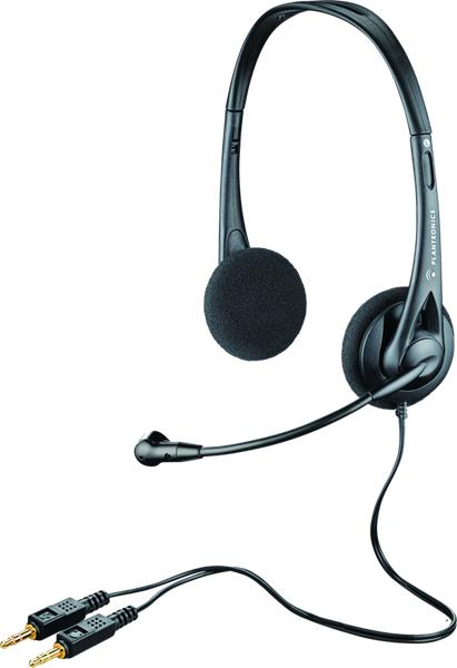Plantronics Audio 322 slúchadlá s mikrofónom, čierne