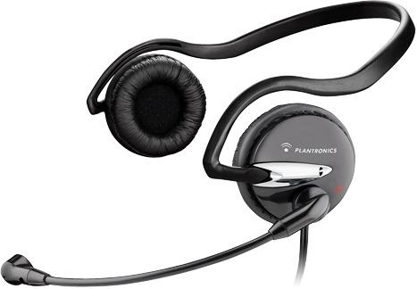 Plantronics Audio 345 slúchadlá s mikrofónom, čierne
