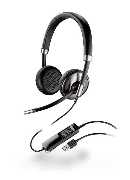 Plantronics BLACKWIRE C720, náhlavná súprava na obe uši, Stereo