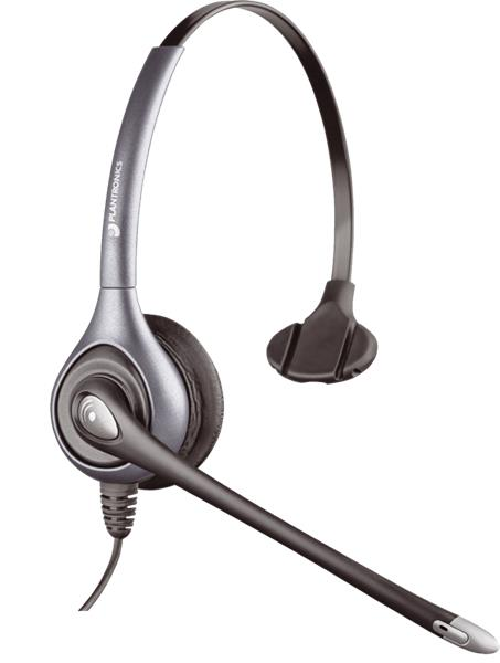 Plantronics SupraPlus HW351N/A náhlavná súprava na jedno ucho so sponou