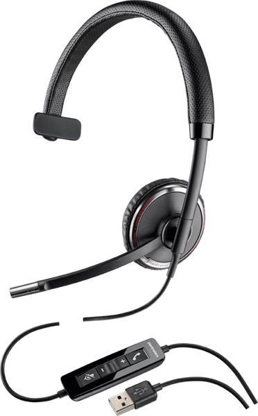 Plantronics BLACKWIRE C510-M Microsoft, náhlavná súprava na jedno ucho so sponou