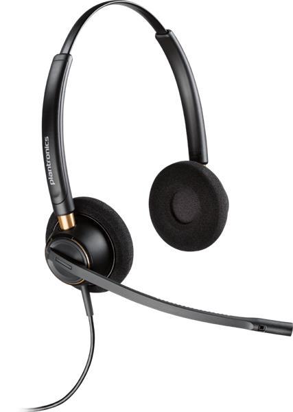 Plantronics ENCOREPRO HW520 náhlavná súprava na obe uši so sponou