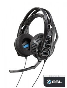 Plantronics Herné slúchadlá RIG 500HD s mikrofónom, čierne
