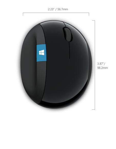 Myš Sculpt Ergonomic Mouse Win7/8 black cierna