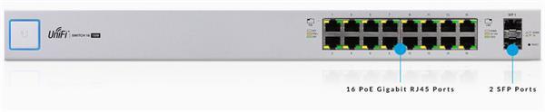Ubiquiti US-16-150W 16x1000Mbps PoE/PoE+/PoE24V