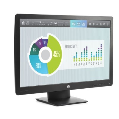 HP ProDisplay P240va, 23.8, VA/LED, 1920x1080 FHD, 3000:1, 8ms, 250cd, VGA, DP, HDMI