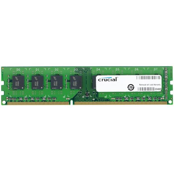 8GB DDR3L 1600 MT/s (PC3L-12800) CL11 Crucial Unbuffered UDIMM 240pin 1.35V/1.5V