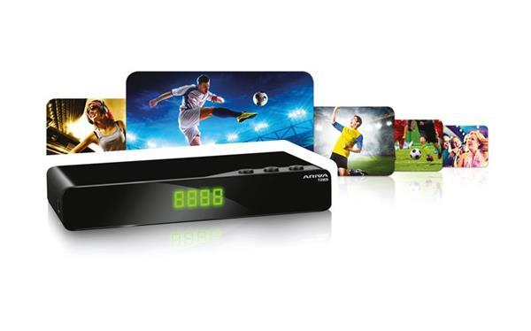 FERGUSON DVB-T/T2 receiver ARIVA T265 (pozemné digitálne vysielanie) H.265/HEVC