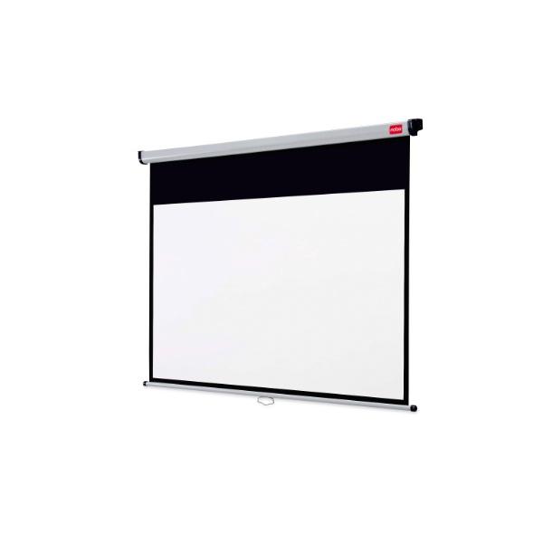 NOBO 16:10 WALL SCREEN 200x135cm - manuálne plátno matné biele,