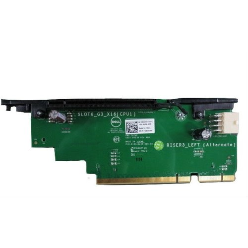 R730 PCIe Riser 3 Left Alternateone x16 PCIe Slot with at least 1 ProcessorCusKit