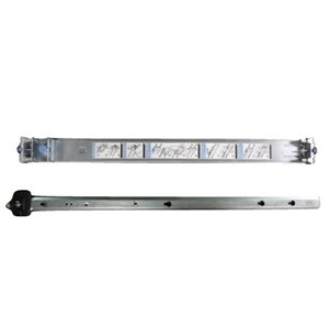 ReadyRails Half set 1x outer and 1x inner rail 2 or 4 post racks for select Dell Networking 1U switches Cust Kit