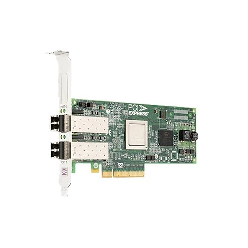 Emulex LPe12002 Dual Channel 8GB PCIe Host Bus Adapter Low Profile - Kit