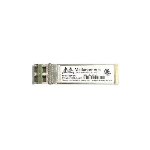 Mellanox Transceiver SFP+ 10Gb Short-Range for use in Mellanox CX3 10Gb NW Adpt OnlyCusKit