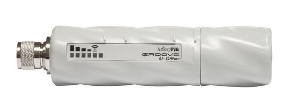 MIKROTIK GrooveGA-52HPacn + L4 (720MHz, 64MB RAM, 1x GLAN, 1x 2+5GHz 802.11ac/n, N-male) outdoor
