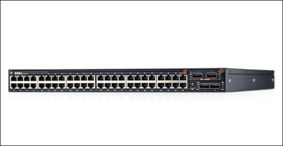 Dell Networking N4064 48x 10GBASE-T and 2x 40GbE QSFP+ Fixed Ports 1x Modular Bay 2x Power Supplies Included