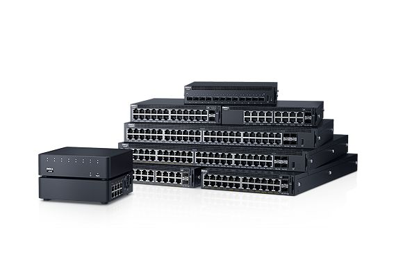 Dell Networking X1052P Smart Web Managed Switch 48x 1GbE (24x PoE - up to 12x PoE+) 4x 10GbE SFP+