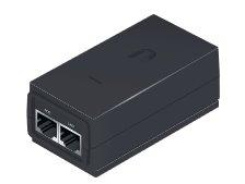 Ubiquiti POE-24-12W-G Gigabit PoE injektor 24V/0,5A (12W) čierny