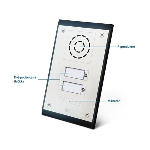 2N Helios Uni 2 buttons, 2 tlačítka (analog)