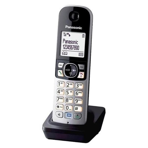 Panasonic KX-TGA681FXB prislus. k bezsnur. tel. / mikrotel.+nabijacka cierna