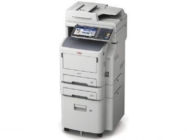 OKI MB770dfnvfax mono MFP A4, 52str/min, USB, NET, DUPLEX, COPY, SCAN, Fax, Zasobnik