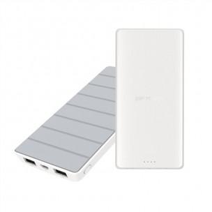 Silicon Power Power Bank S82 8000mAh, bielo-sivá