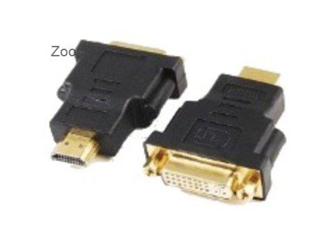 REDUKCIA, HDMI-male to DVI-female adaptér