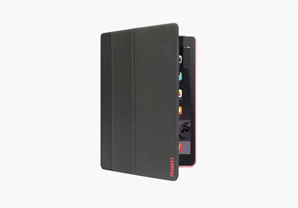 Cygnett TekShell, štíhly obal/stojan pre iPad Pro, 9.7´´, čierno/červený