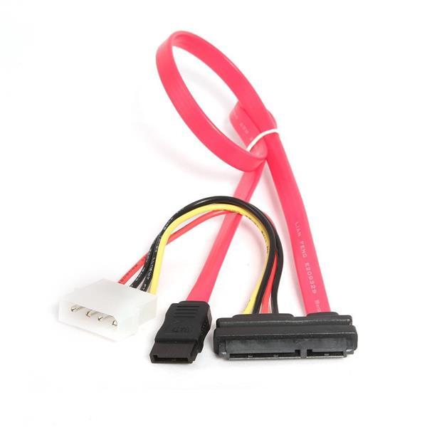 Kábel SATA III dátový + napájací kábel