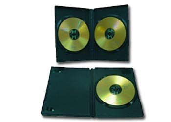 Obal pre 2 DVD, slim, čierny