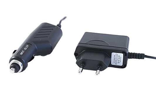 Micro USB nabíjačka - sada. Car adaptér