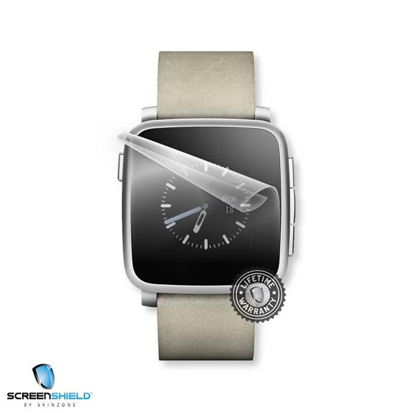ScreenShield Pebble Time Steel - Film for display protection