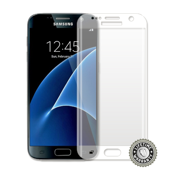 ScreenShield G930 Galaxy S7 Tempered Glass protection full cover (semi transparent) - Film for display protection