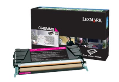 Lexmark C746, C748 Magenta Return Program Toner Cartridge