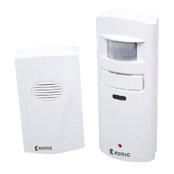 König Alarm s detektorom pohybu, 130 dB
