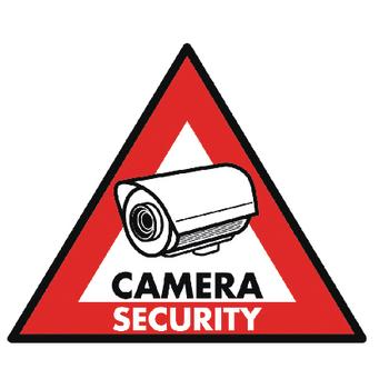 König Nálepka kamerového zabezpečenia